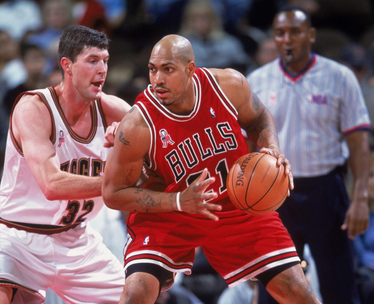 Marcus Fizer, Chicago Bulls