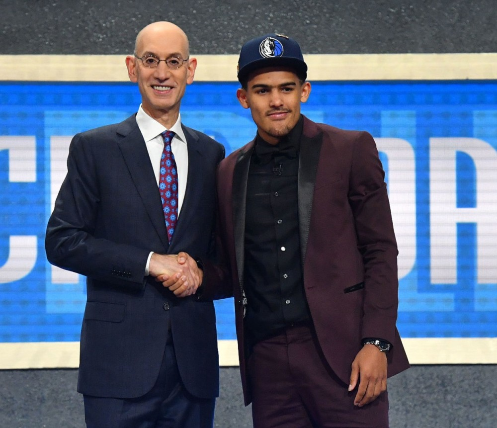 Trae Young, Draft