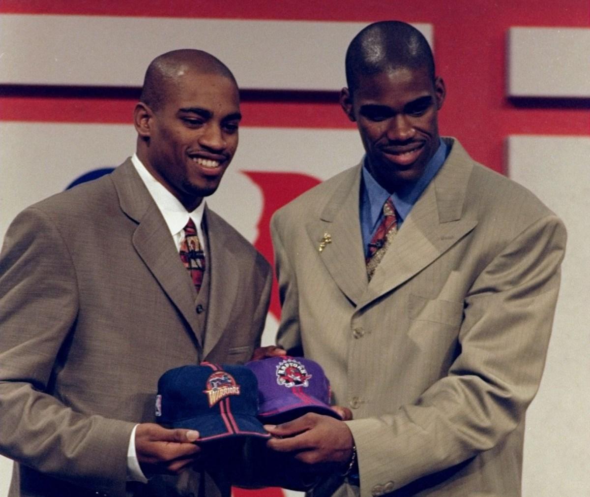 Vince Carter and Antawn Jamison, Draft