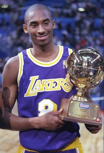 Kobe Bryant, Slam Dunk champion