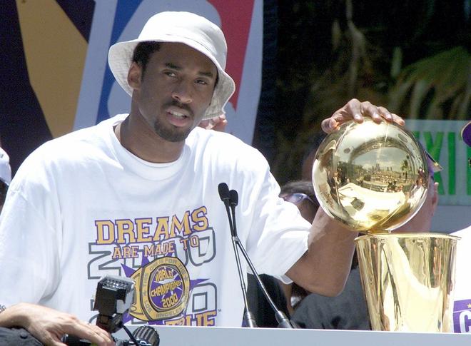 Kobe Bryant, NBA champion