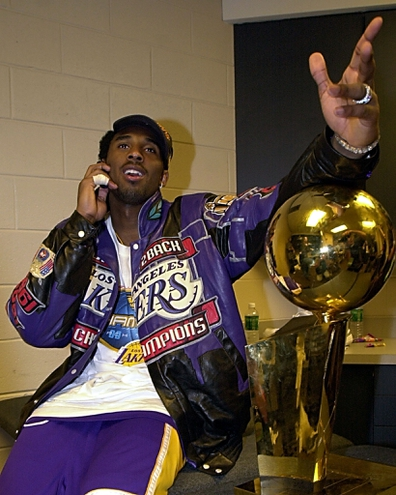 Kobe Bryant, 2001 NBA champion