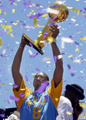 Kobe Bryant, 2002 NBA champion