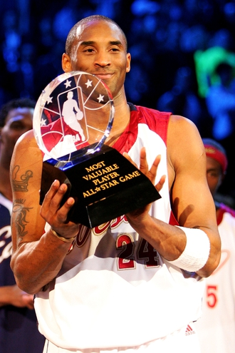 Kobe Bryant, All-Star MVP