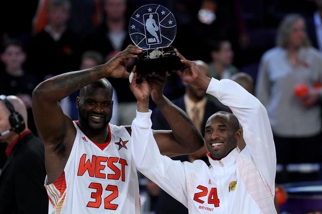 Kobe Bryant and Shaquille O'Neal, 2009 MVP