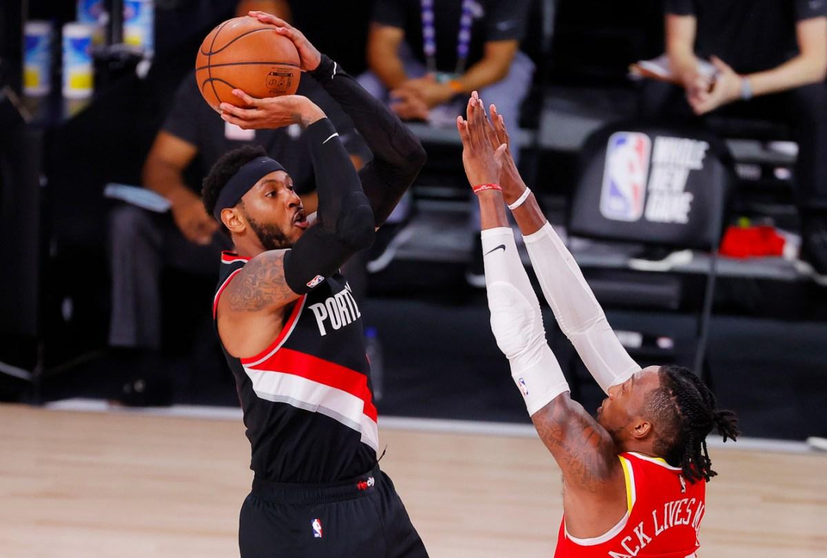 Carmelo Anthony, Portland Trail Blazers