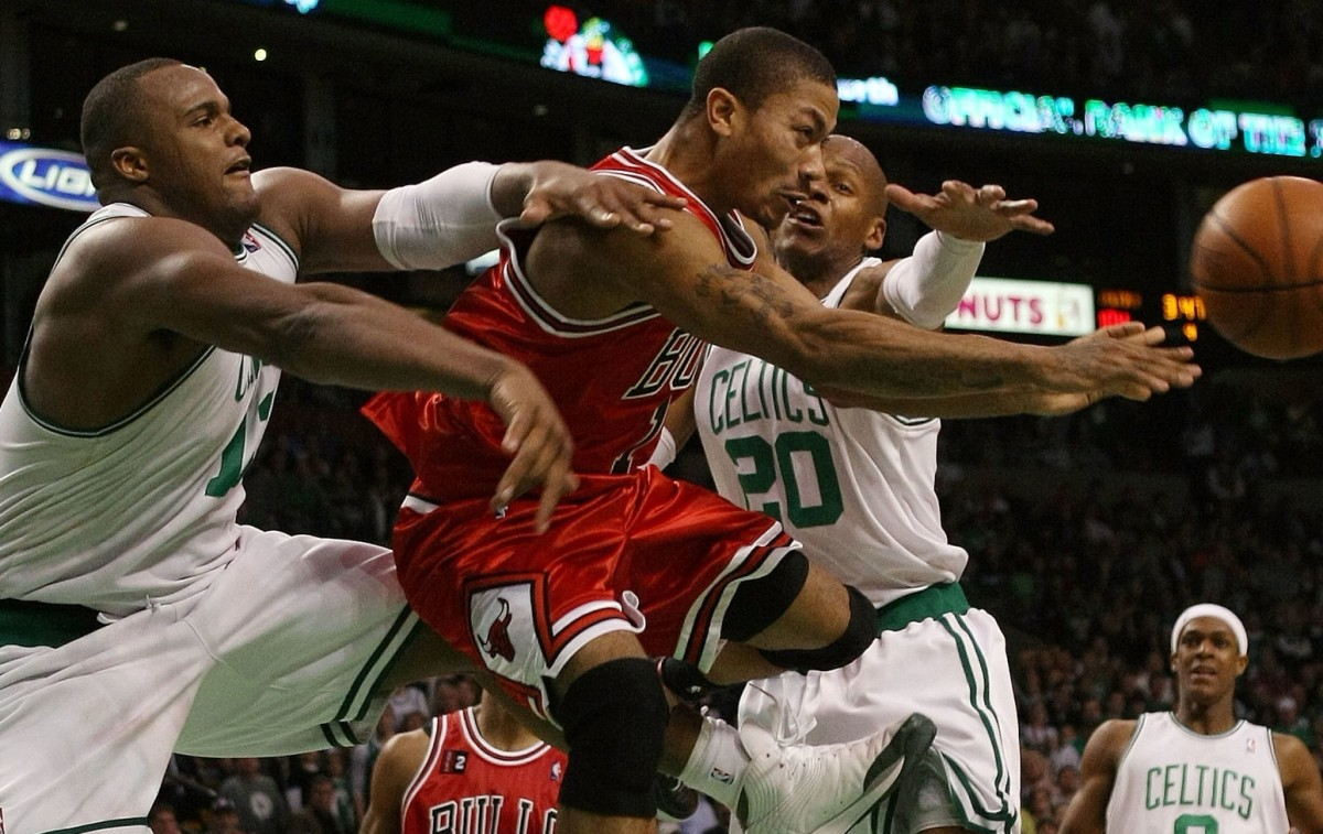 Derrick Rose vs. Boston Celtics