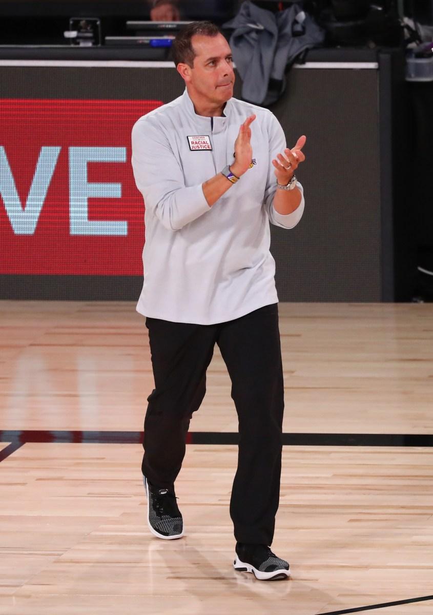 Frank Vogel, Los Angeles Lakers