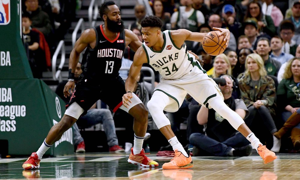 Giannis Antetokounmpo James Harden Rivalry Bucks Rockets