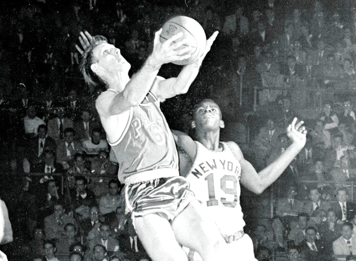 Neil Johnson, Philadelphia Warriors