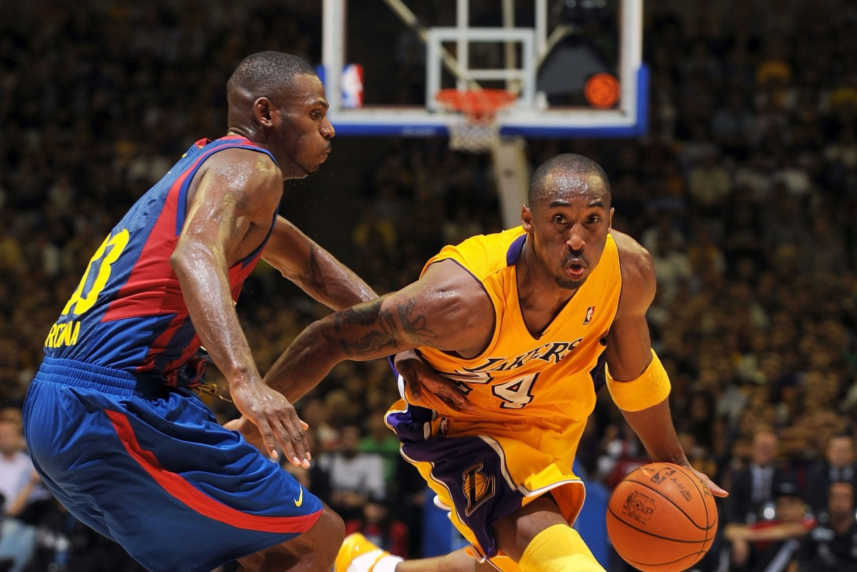 Kobe Bryant vs. Pete Mickeal