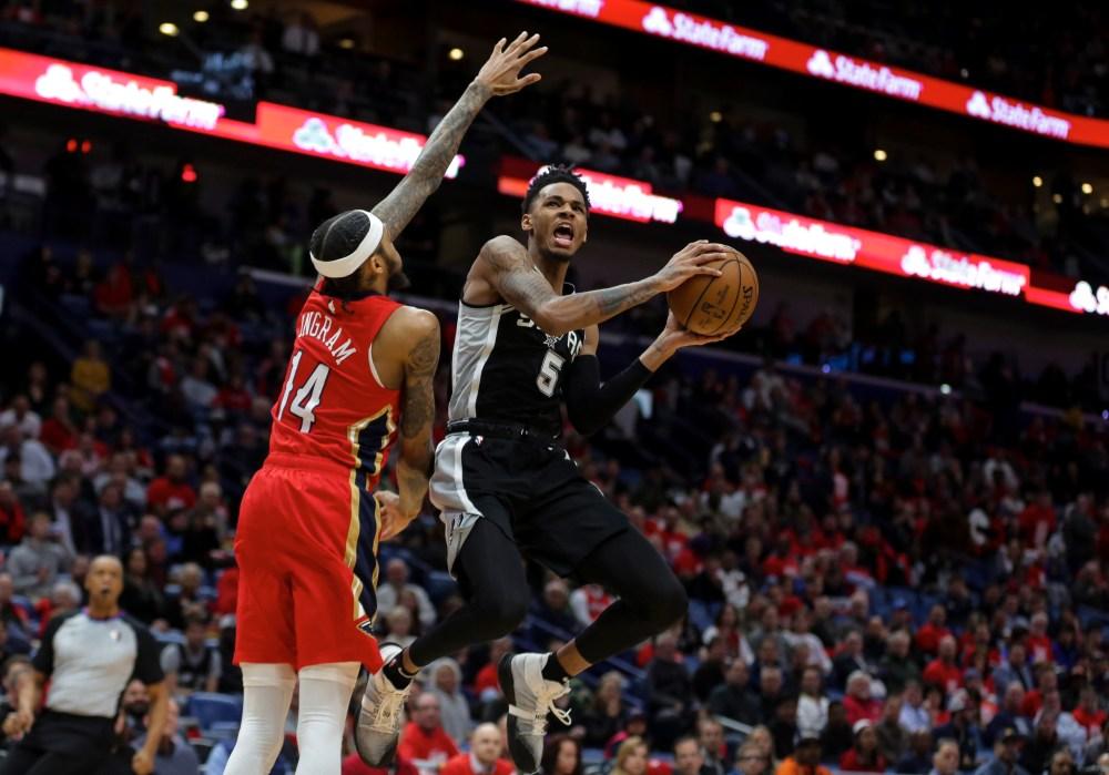 Dejounte Murray, San Antonio Spurs
