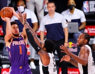 Devin Booker is showing out in the biggest games of his career