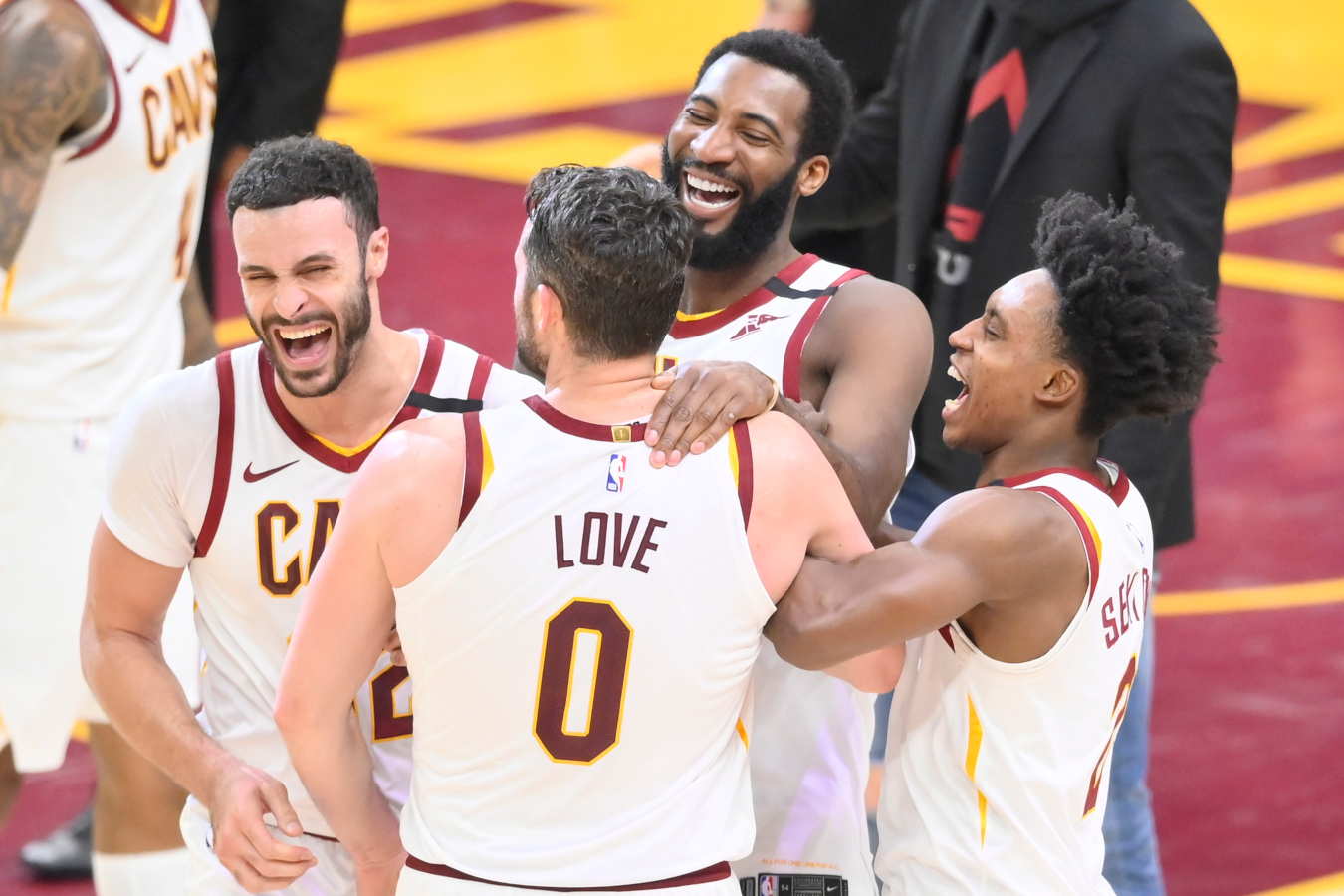 Andre Drummond and Kevin Love, Cleveland Cavaliers