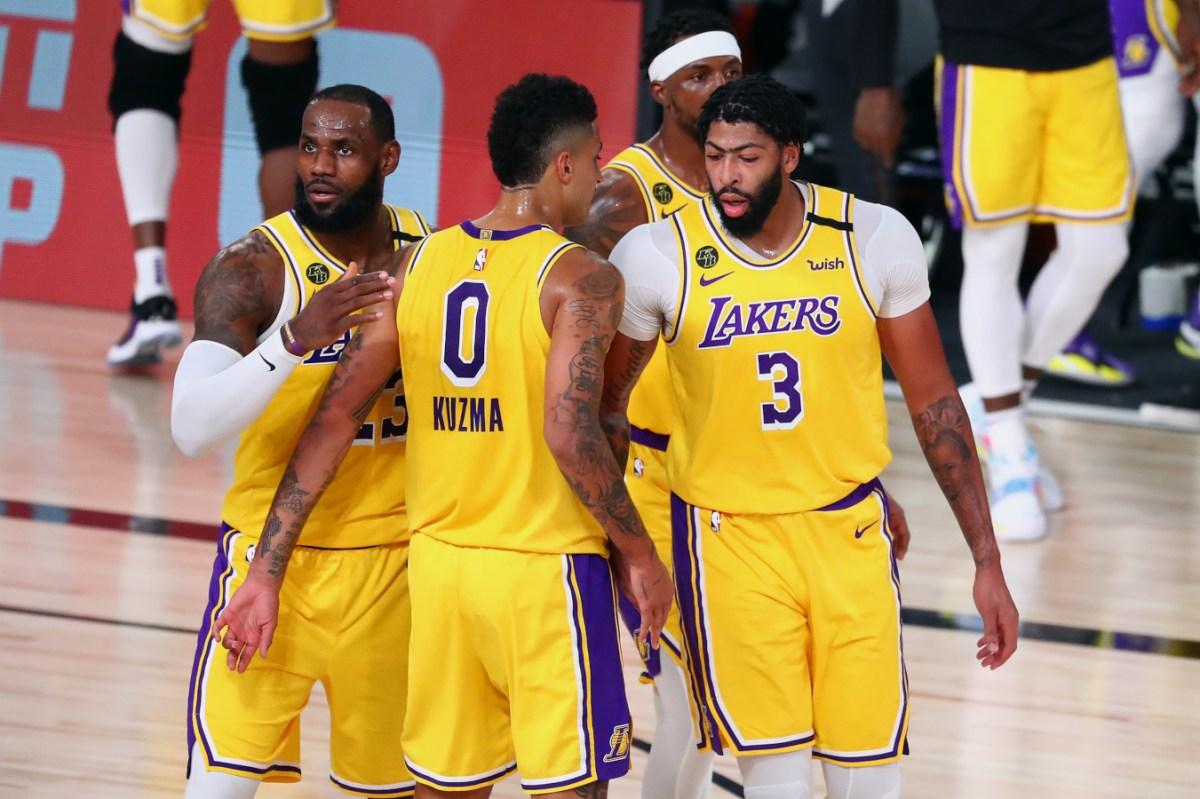 LeBron James, Kyle Kuzma, Anthony Davis