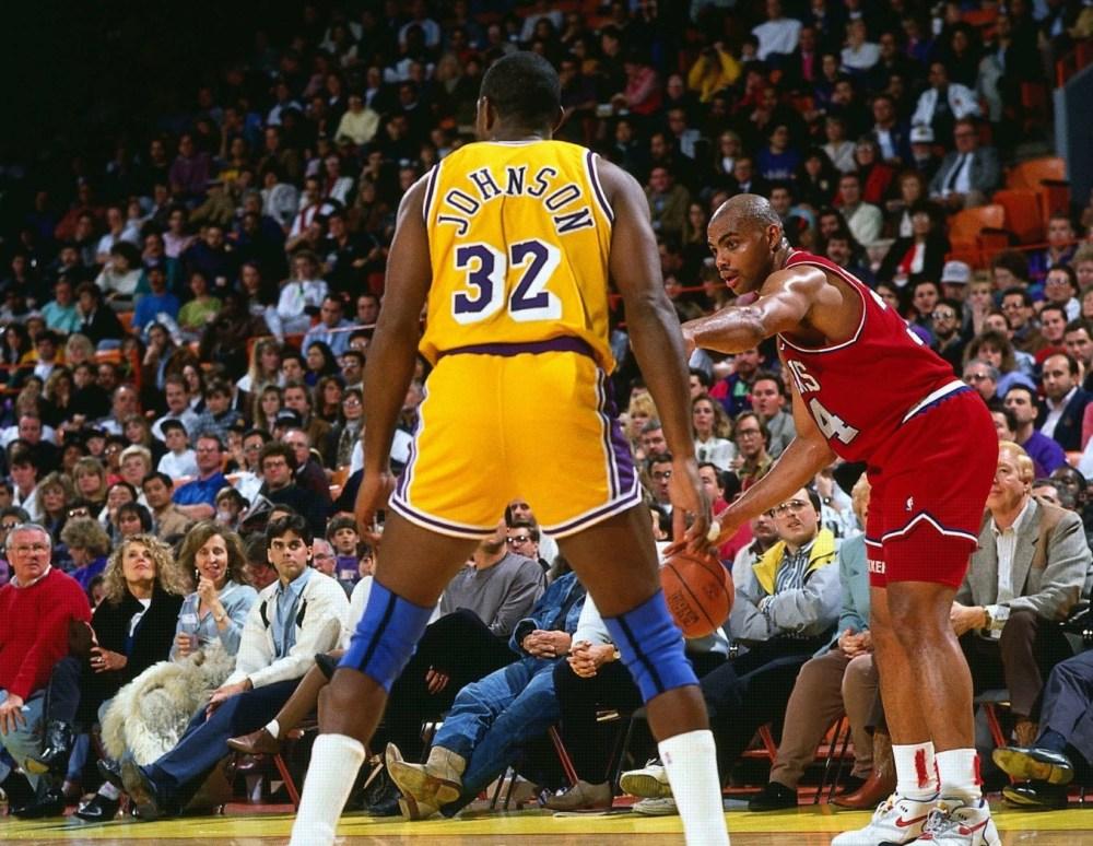 Charles Barkley vs Magic Johnson