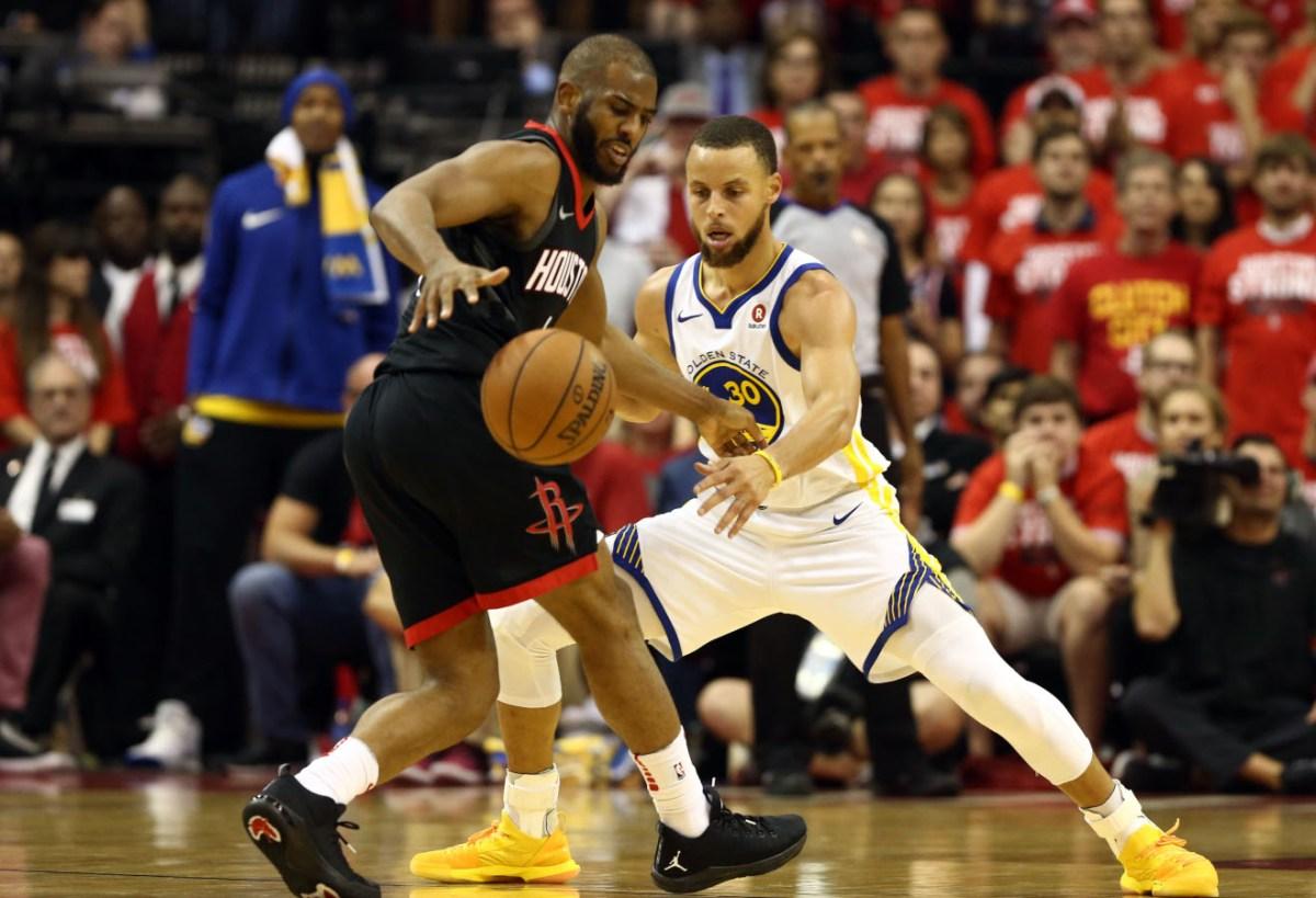Chris Paul vs. Stephen Curry