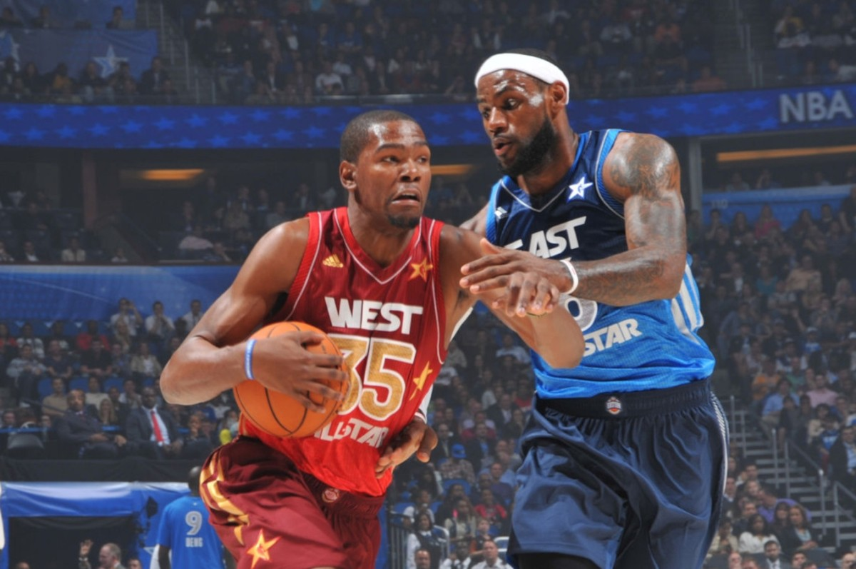 Kevin Durant vs LeBron James, 2012 All-Star Game