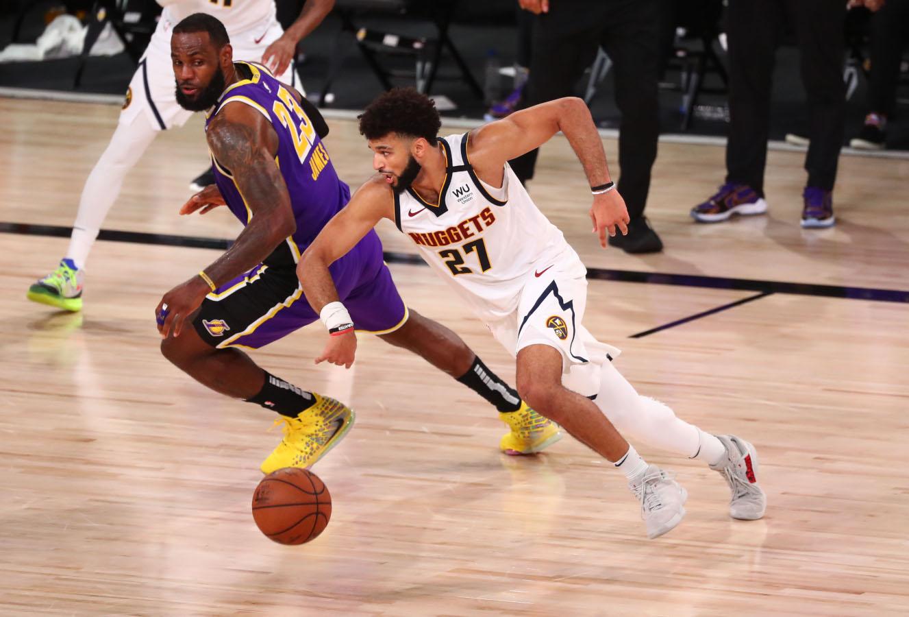 Jamal Murray vs. LeBron James
