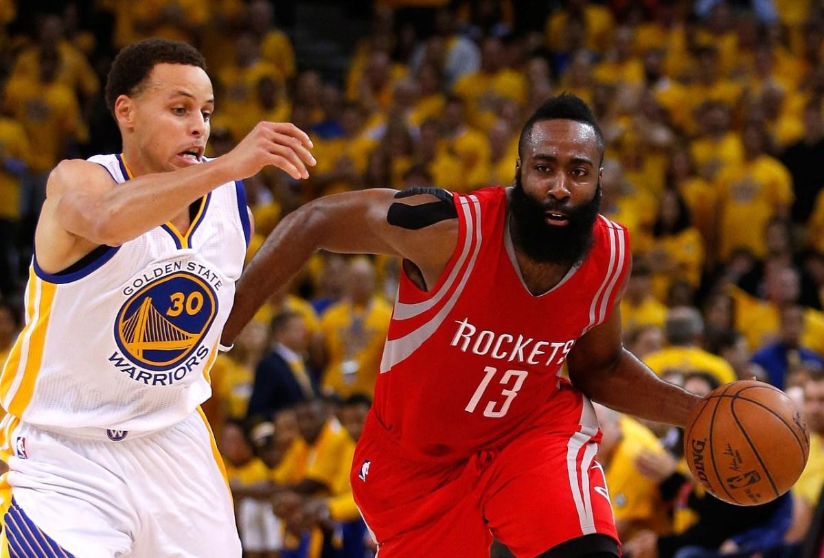 James Harden vs Stephen Curry