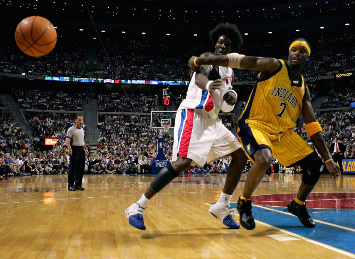 Jermaine O'Neal, Indiana Pacers