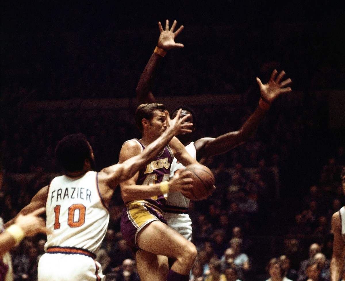 Jerry West vs Willis Reed