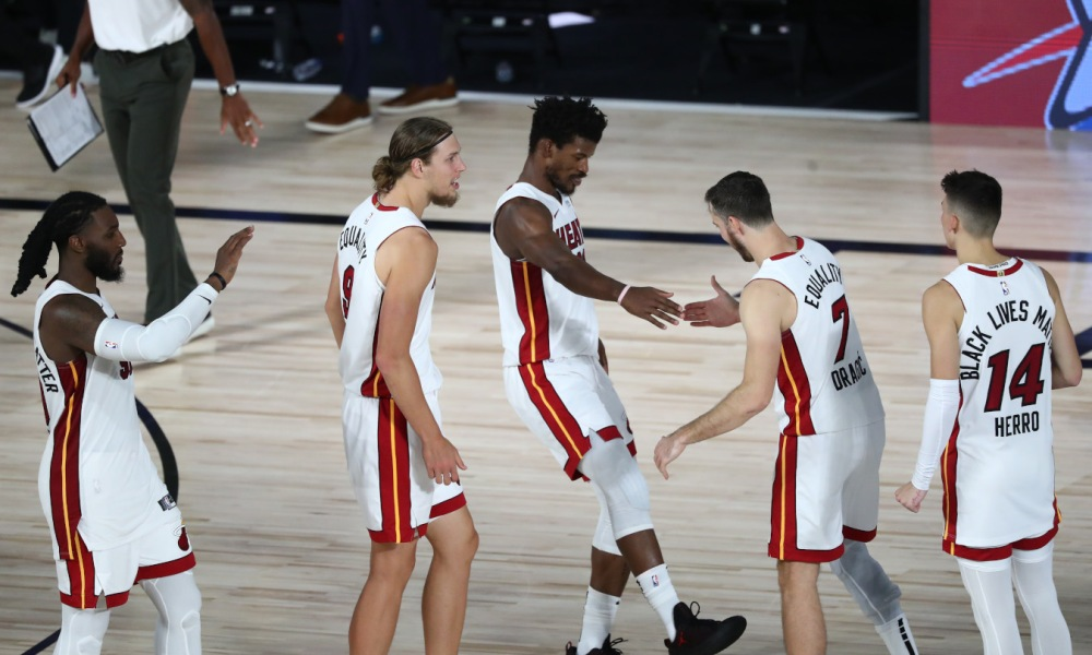 Jimmy Butler and Goran Dragic, Miami Heat