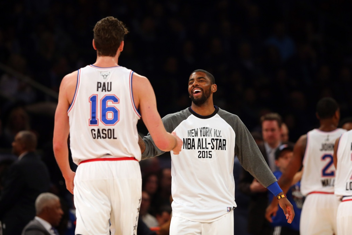 Kyrie Irving and Pau Gasol, All-Star Game