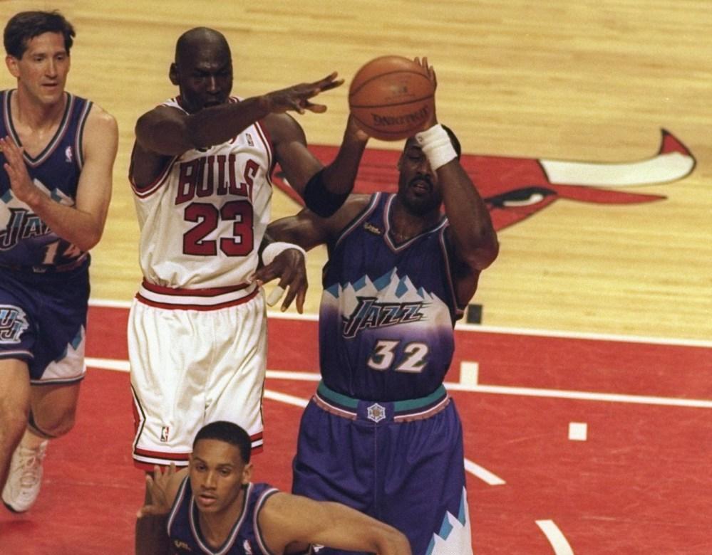 Michael Jordan vs Karl Malone