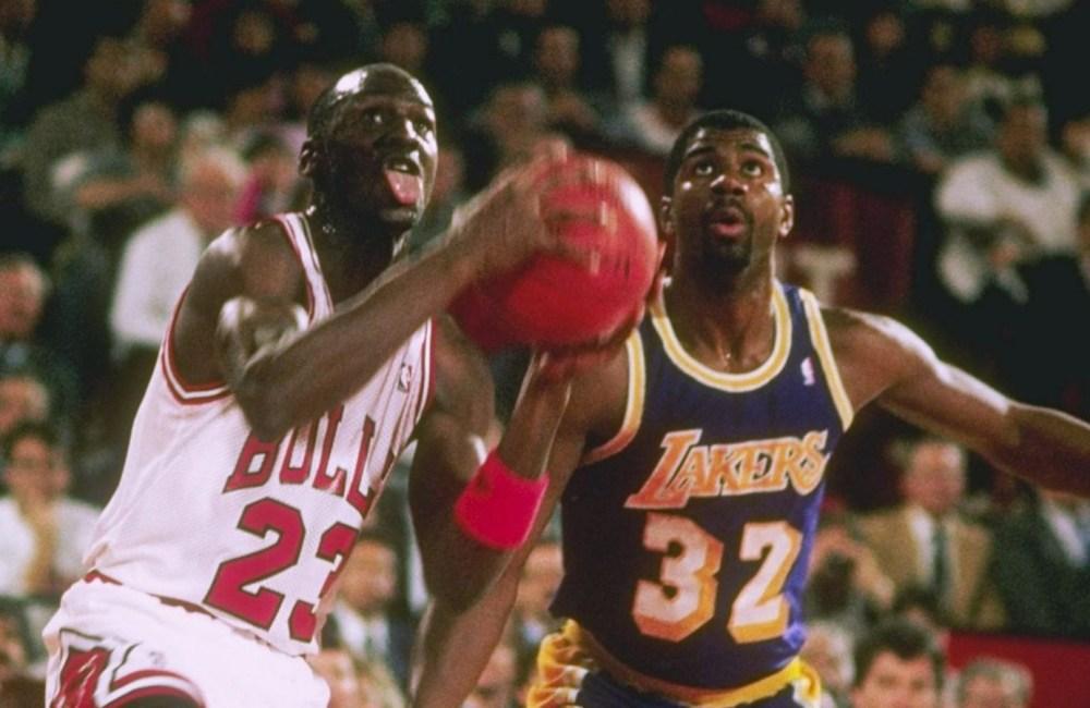 Michael Jordan vs Magic Johnson