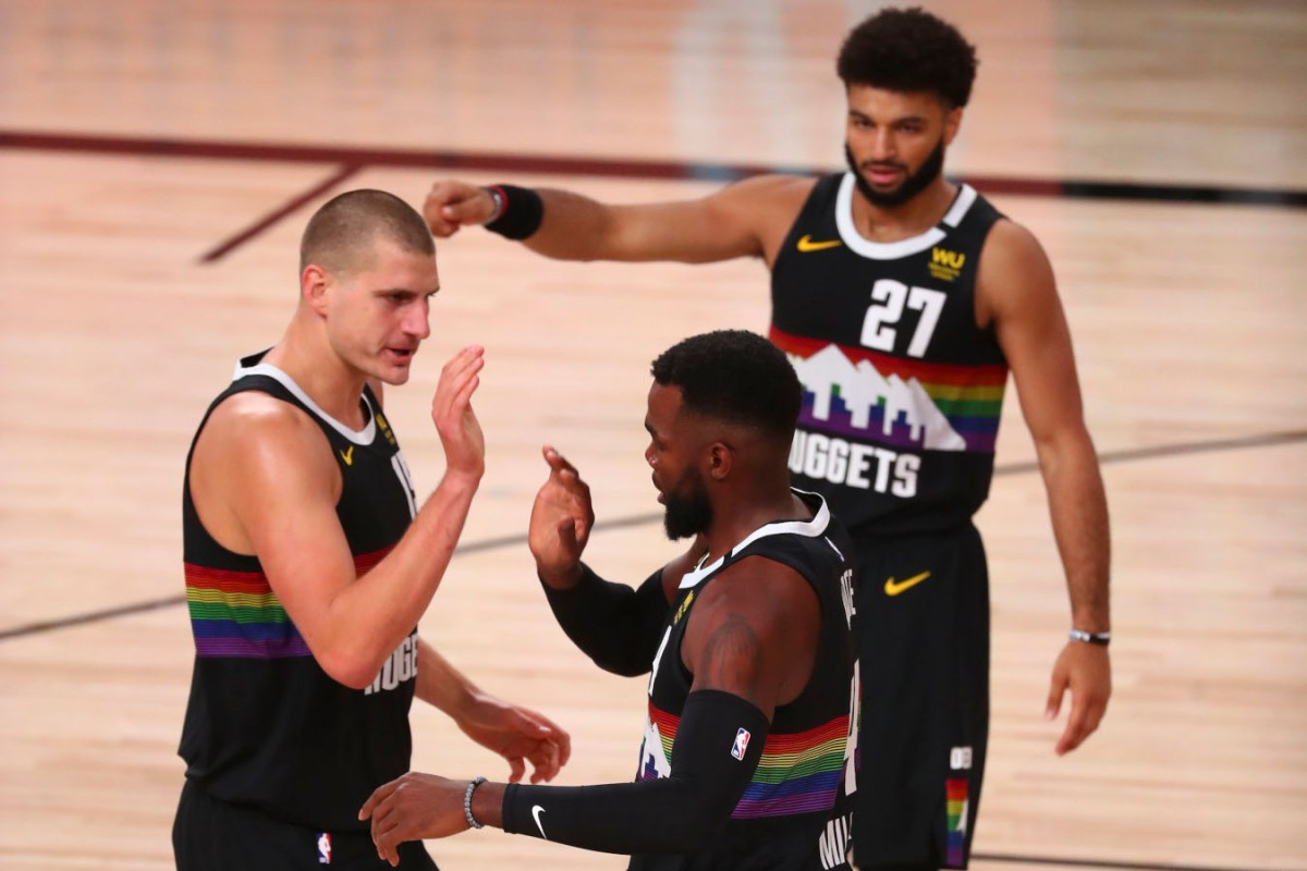Nikola Jokic Paul Millsap, Denver Nuggets