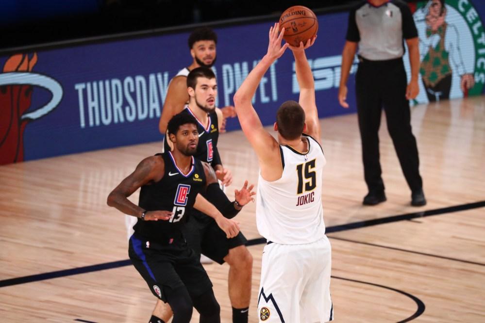 Nikola Jokic vs Clippers