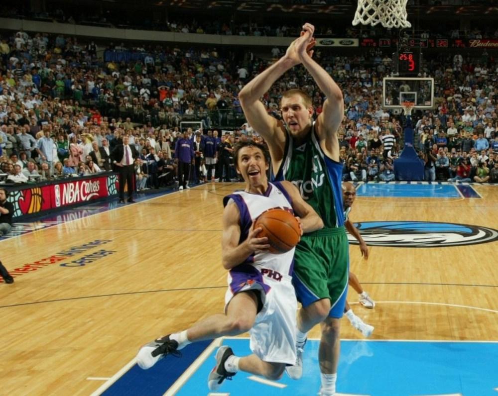 Steve Nash vs Dirk Nowitzki 2007