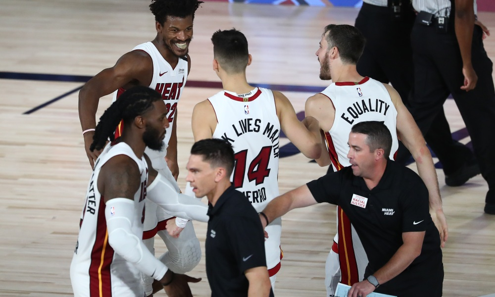 Miami Heat How the Team Came Together Rumors Free Agency Trade Butler Herro Duncan Robinson