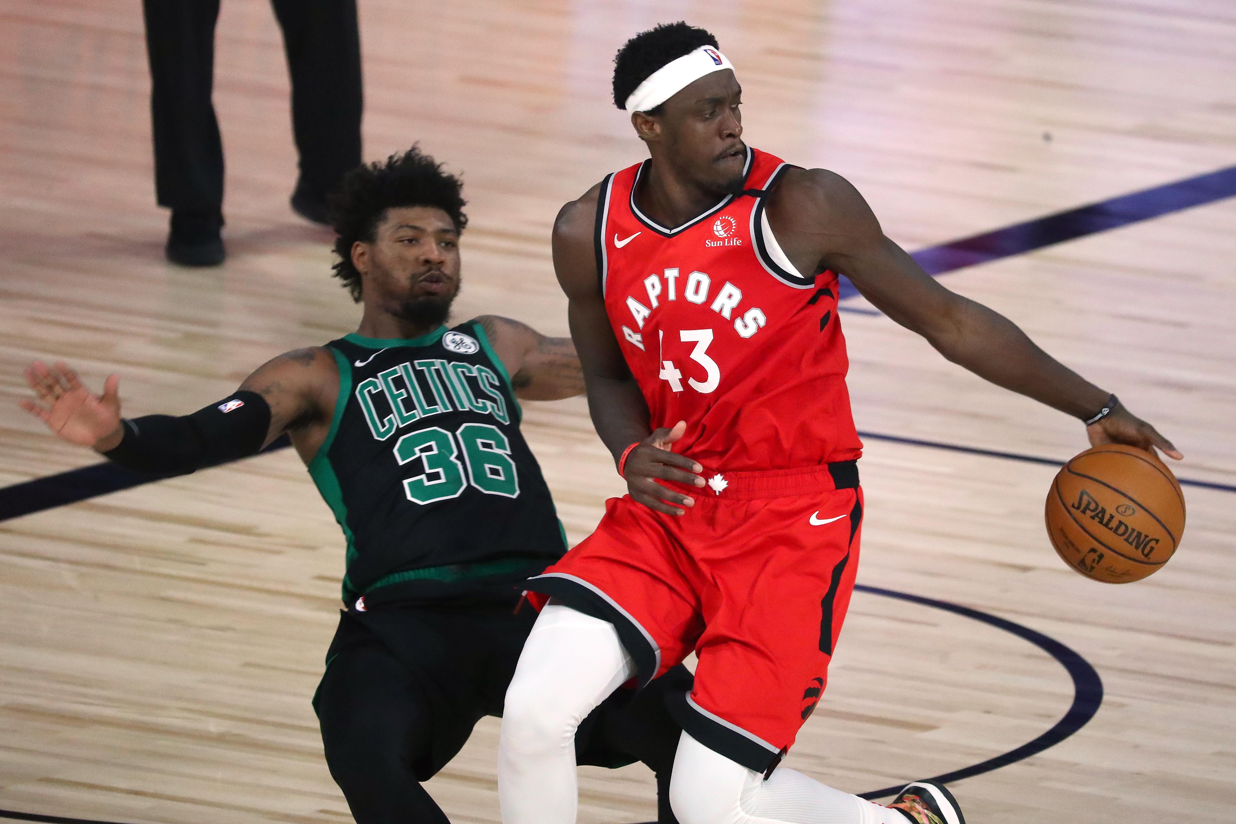 Pascal Siakam vs. Boston Celtics