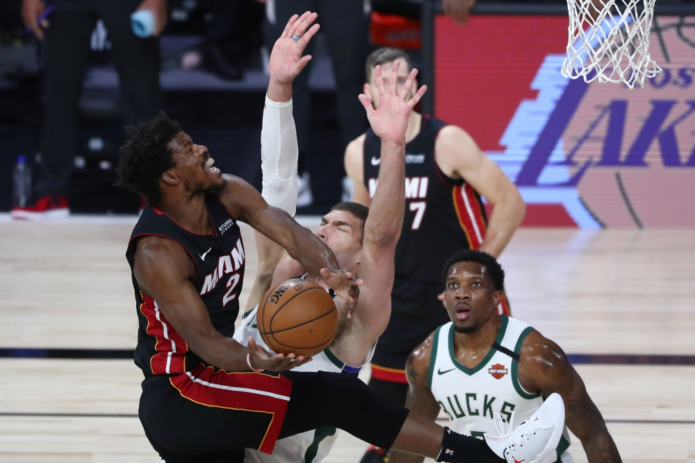 Jimmy Butler vs. Milwaukee Bucks