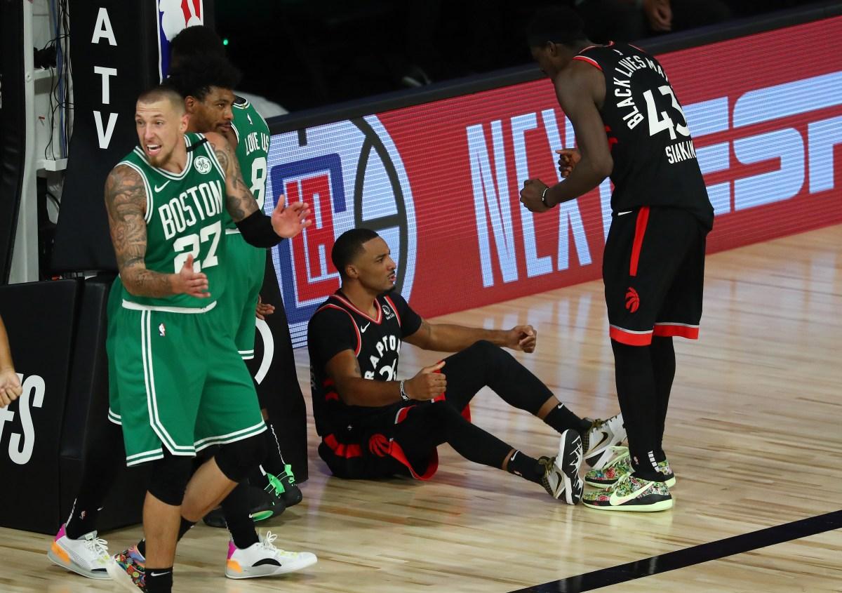 Norman Powell vs. Boston Celtics