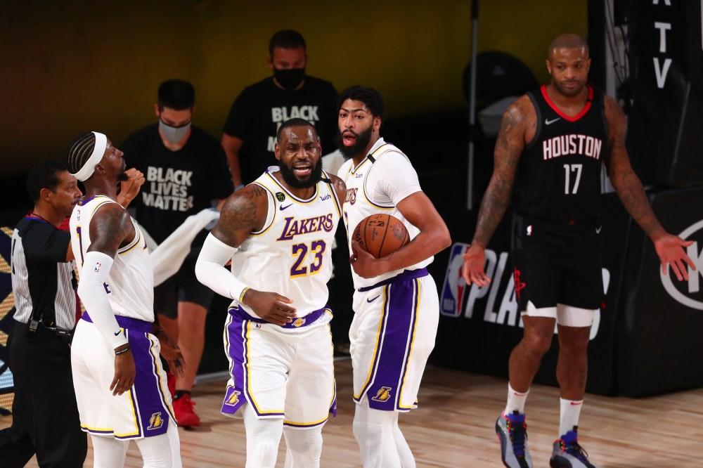 LeBron James vs. Rockets