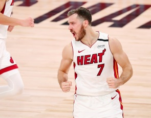 Goran Dragic is setting a historic playoff scoring pace for a point guard of his age