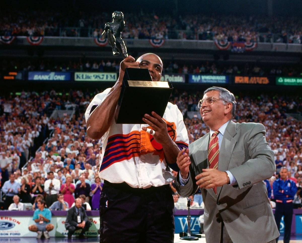 Charles Barkley, MVP