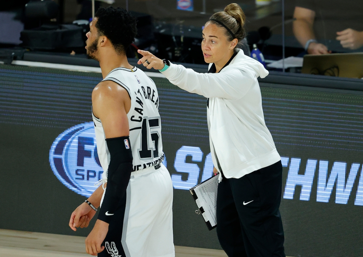 Becky Hammon, San Antonio Spurs