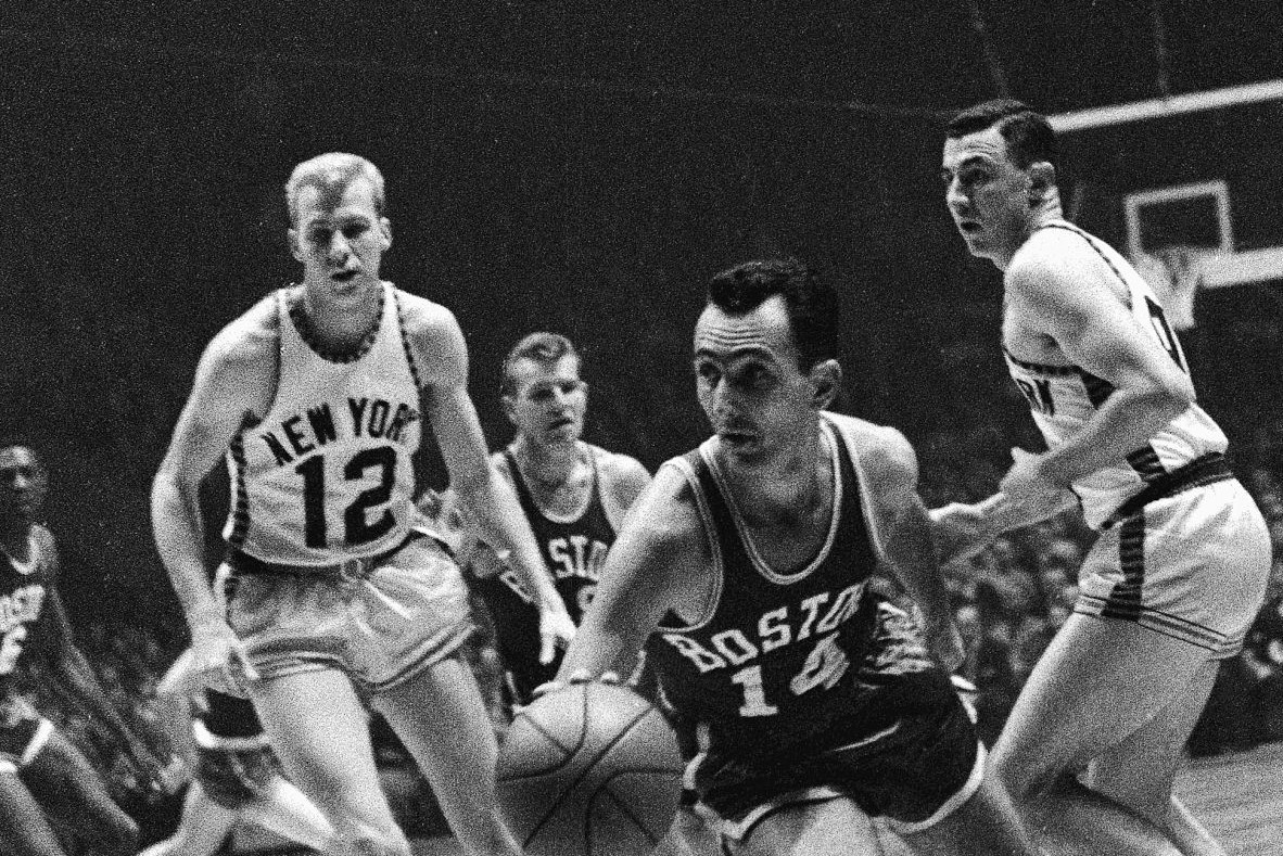 Bob Cousy, Boston Celtics