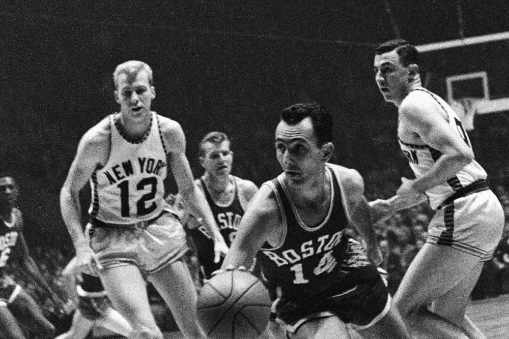 Bob Cousy, Boston Celtics