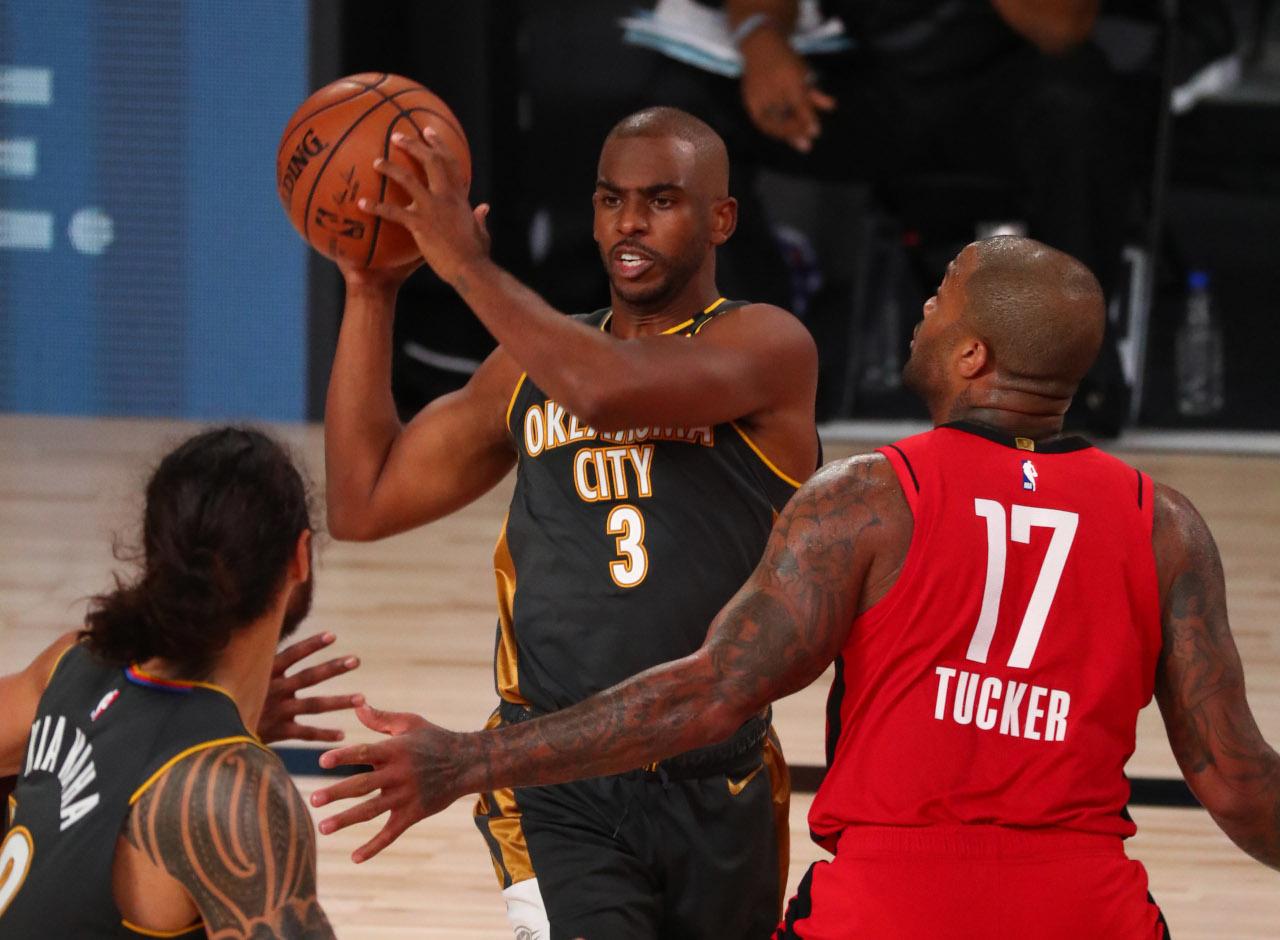 Chris Paul vs. Rockets