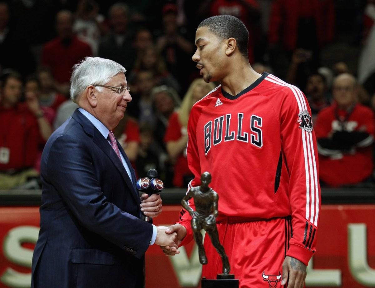 Derrick Rose, MVP