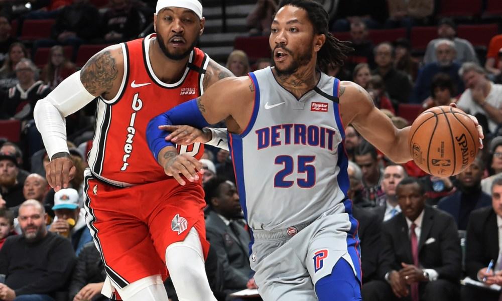 Derrick Rose, Detroit Pistons