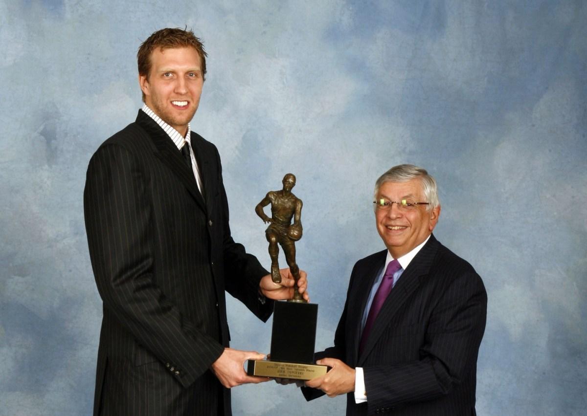 Dirk Nowitzki, MVP