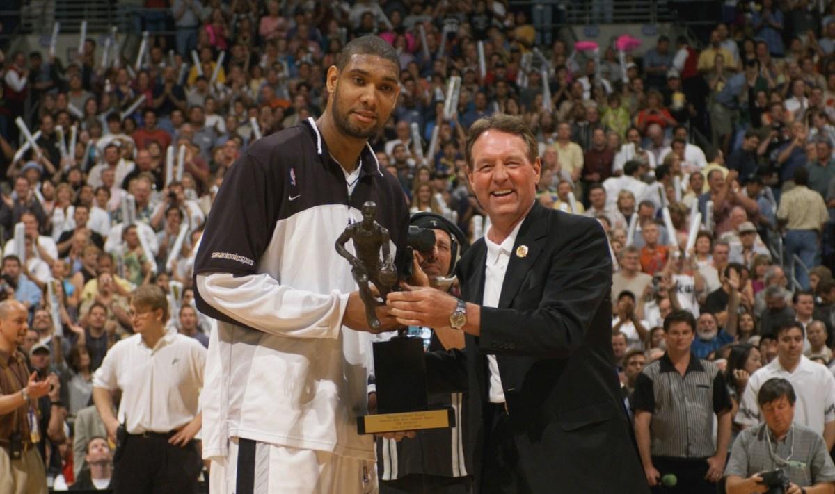 Tim Duncan, MVP