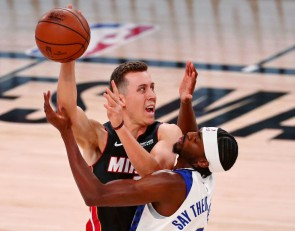 Duncan Robinson is the most improved player this season, according to NBA 2K21