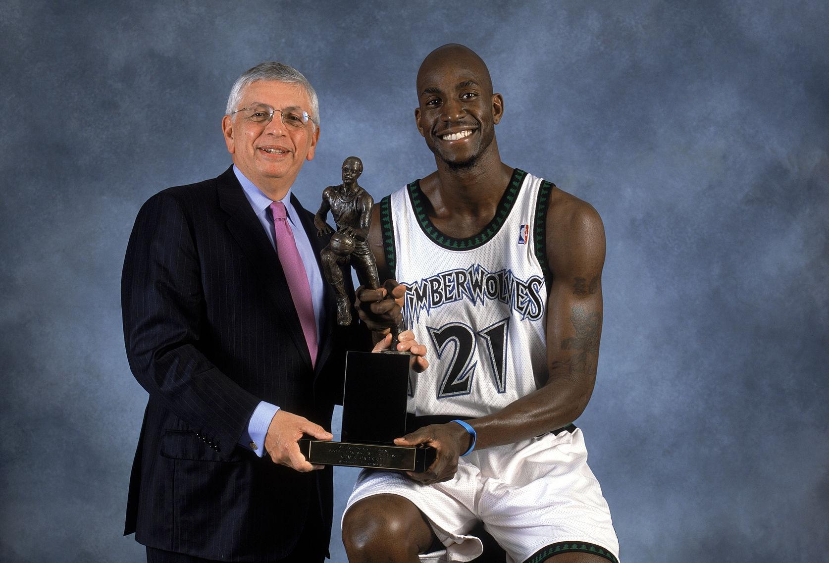 Kevin Garnett, MVP